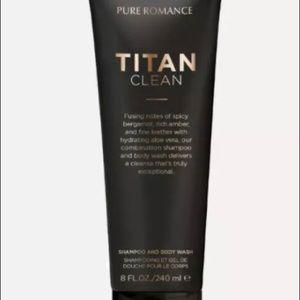 Pure Romance Titan Clean 3 in 1 body wash new